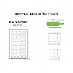 Винный шкаф Dunavox DX-28.65C