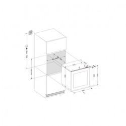 Винный шкаф Dunavox DAB-25.62DOP.TO