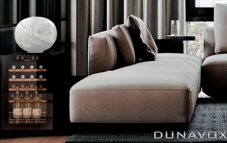 винный шкаф для дома Dunavox DX-20.62KF